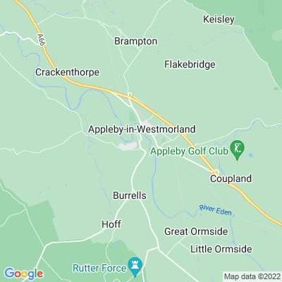 Appleby Castle Location