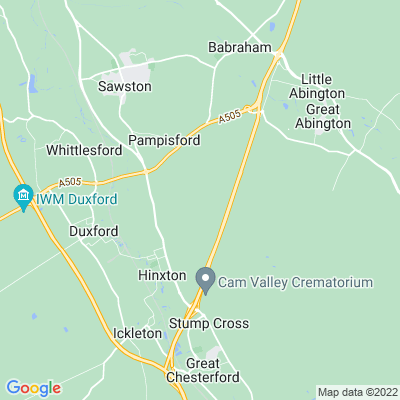 Hinxton Grange Location