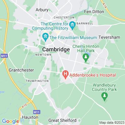 Homerton College, Cambridge Location
