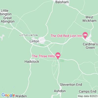 Barham Hall, Linton Location