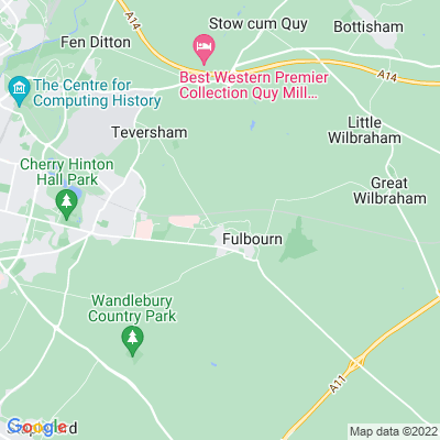 Fulbourn Pumping Station Location
