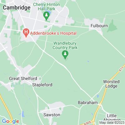 Wandlebury, Stapleford Location