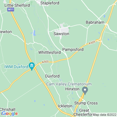 Duxford Mill Location