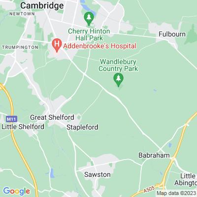 Middlefield, Stapleford Location