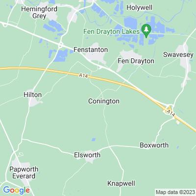 Conington Hall Location