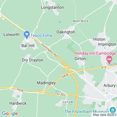 Cambridge City Crematorium Location
