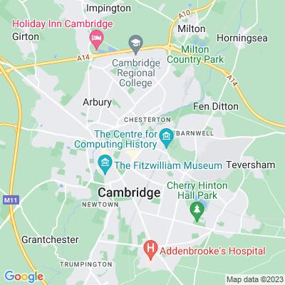 Abbey House, Cambridge Location