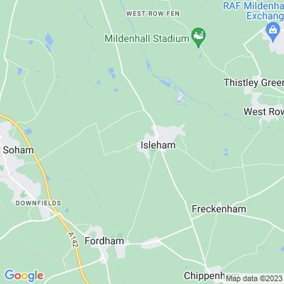 Isleham Hall Location