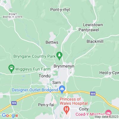 Bryngarw Location