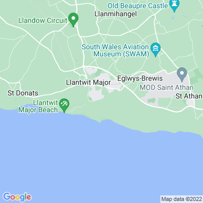 Ham, The, Llantwit Major Location