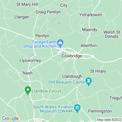 Llanblethian, The Cross Location