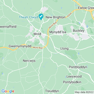 Pentrehobyn Location