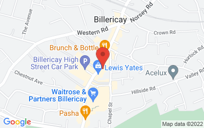 Map of Browns Solicitors