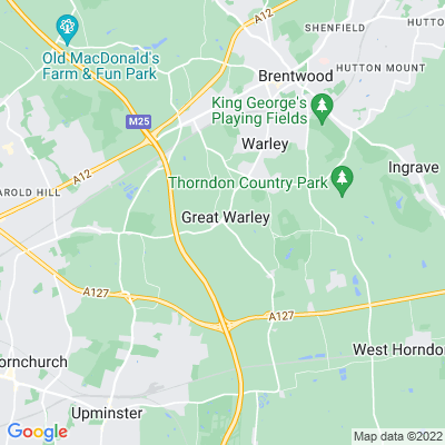 Warley Place Location