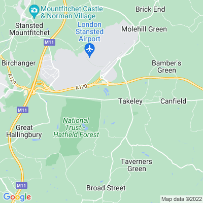 Hatfield Forest Location