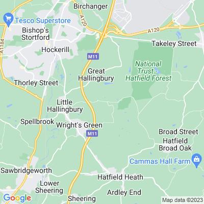 Hallingbury Park Location