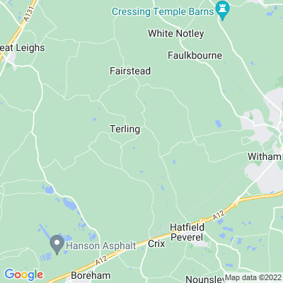 Terling Place Location