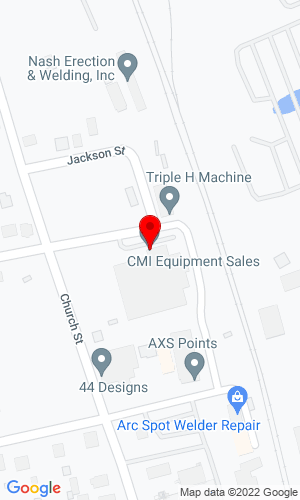 Google Map of CMI Equipment Sales, Inc. 2405 Dickerson Road, Nashville, TN, 37207,