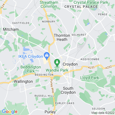 Christ Church West Croydon Location