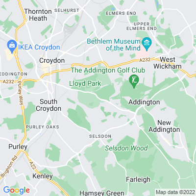 Coombe Wood Location