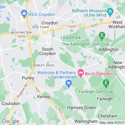 Croham Hurst Location