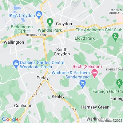 South Croydon Recreation Ground Location