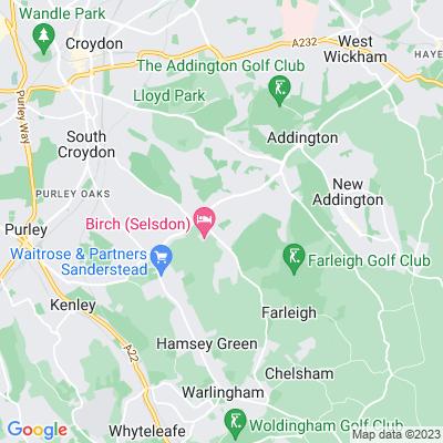 Selsdon Recreation Ground Location