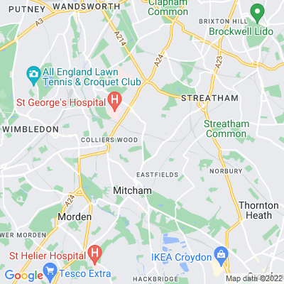 London Road Burial Ground Location