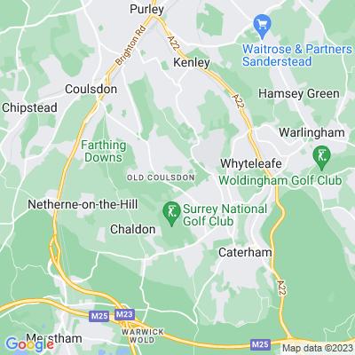 Coulsdon Common Location