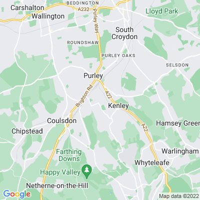 Foxley Wood and Sherwood Oaks Location