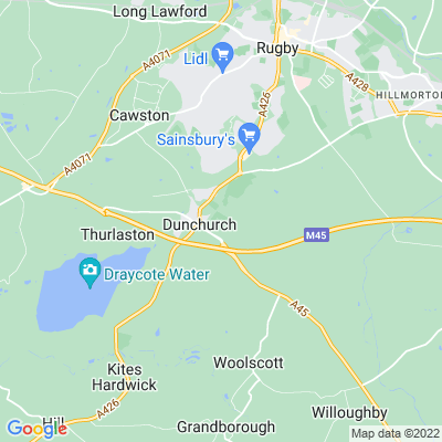 Dunchurch Lodge Location