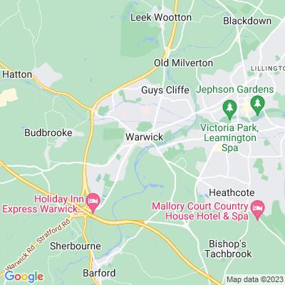 Warwick Castle Location