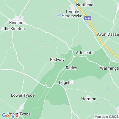 Radway Grange Location