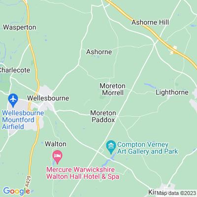 Moreton Hall Location