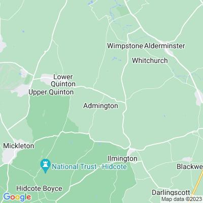 Admington House Location
