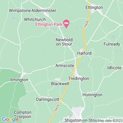 Armscote Manor Location