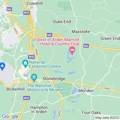 Packington Hall Location