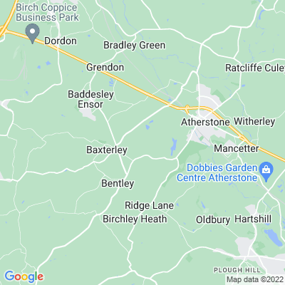 Merevale Hall Location