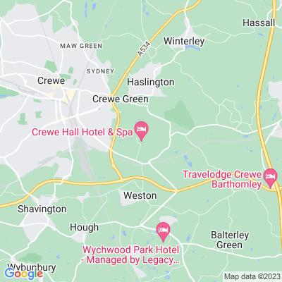 Crewe Hall Location
