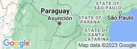 Caaguazú map