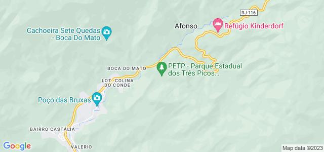 Cabeça do Dragão, Parque Estadual dos Três Picos, Rio de Janeiro - RJ