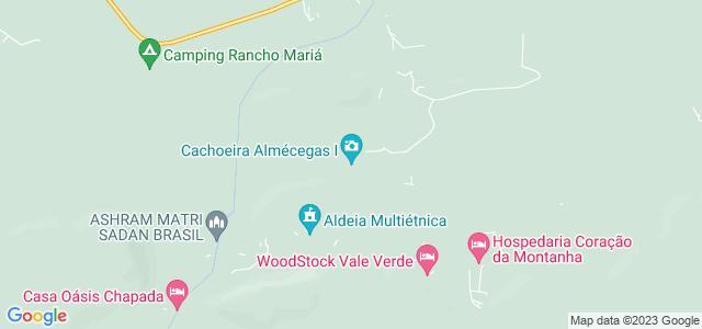 Cachoeira Almécegas 1, Alto Paraíso / São Jorge, Chapada dos Veadeiros - Goiás