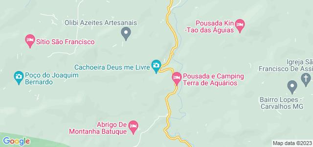 Cachoeira Deus me Livre, Aiuruoca - MG