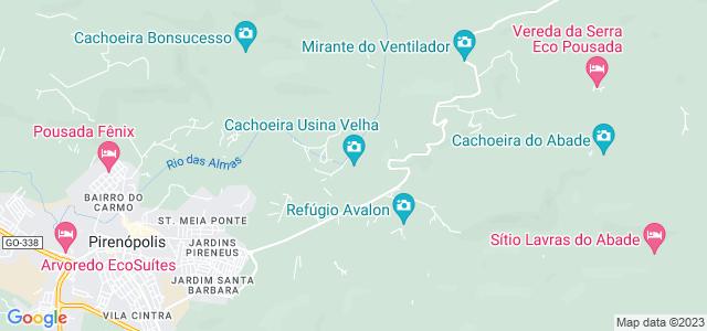 Cachoeira Usina Velha, Pirenópolis, Goiás