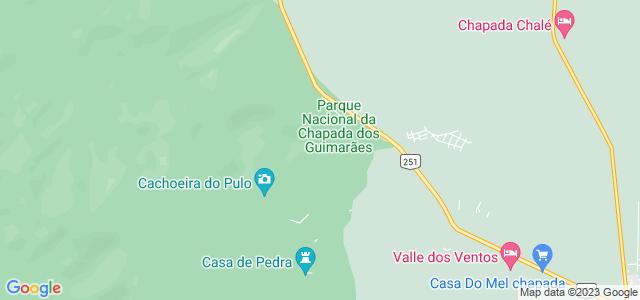 Cachoeira Véu de Noiva, Chapada dos Guimarães, Mato Grosso - MT