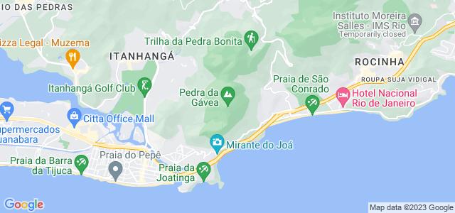Cachoeira da Pedra da Gávea, setor C do Parque Nacional da Tijuca - RJ