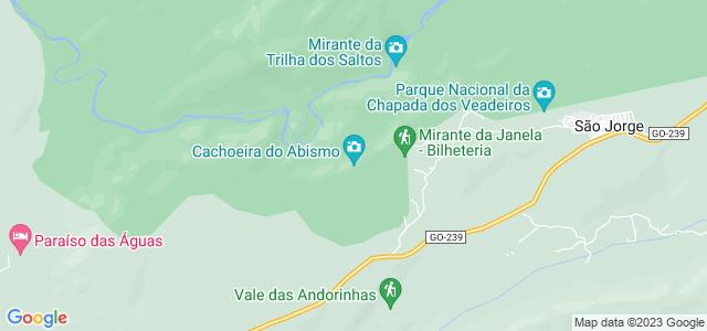 Cachoeira do Abismo, Chapada dos Veadeiros - GO.