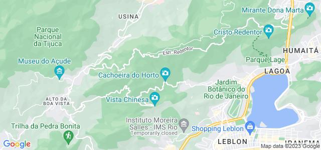 Cachoeira do Chuveiro, Horto - RJ