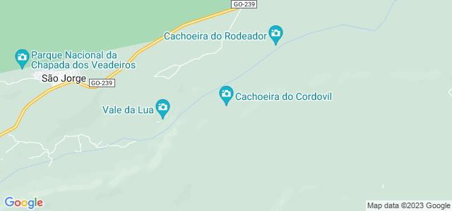 Cachoeira do Cordovil, Chapada dos Veadeiros, Goiás