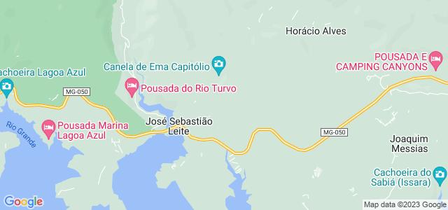 Cachoeira do Grito, Capitólio, Minas Gerais